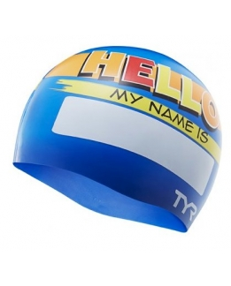 BONNET SILICONE ENFANT MY NAME IS
