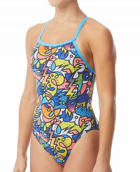Maillot femme 1 pièce Astratto diamondfit
