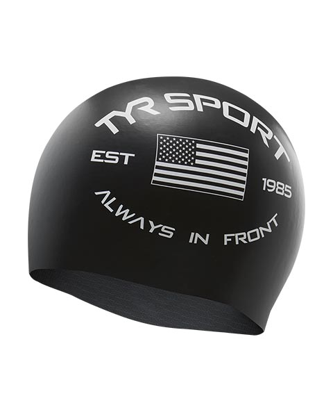 TYR Always In Front Silicone Adult Swim Cap